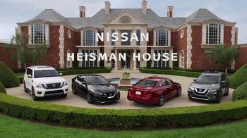 Nissan TV Spot, 'Heisman House: Parking Spot' Featuring Marcus Mariota, Kyler Murray [T1] - 20 commercial airings