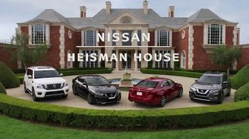Nissan TV Spot, 'Heisman House: Parking Spot' Featuring Marcus Mariota, Kyler Murray [T1] - 20 commercial airings
