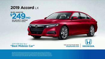 Honda TV Spot, 'Built Just for You' [T2] - Thumbnail 6