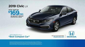 Honda TV Spot, 'Built Just for You' [T2] - Thumbnail 7