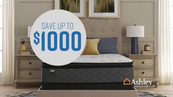 Ashley HomeStore Columbus Day Mattress Sale TV Spot, 'Your Choice: Save Up to $1,000' - Thumbnail 6