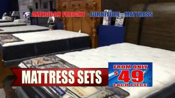 American Freight Semi-Annual Sale TV Spot, 'Take It Home Today for $50: Mattress Sets & Dining Sets' - Thumbnail 4
