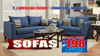 American Freight Semi-Annual Sale TV Spot, 'Take It Home Today for $50: Mattress Sets & Dining Sets' - Thumbnail 5