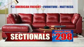 American Freight Semi-Annual Sale TV Spot, 'Take It Home Today for $50: Mattress Sets & Dining Sets' - Thumbnail 6