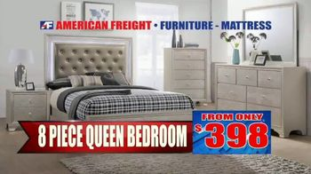 American Freight Semi-Annual Sale TV Spot, 'Take It Home Today for $50: Mattress Sets & Dining Sets' - Thumbnail 8
