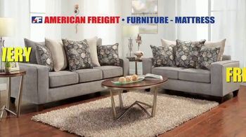 American Freight Semi-Annual Sale TV Spot, 'Take It Home Today for $50: Mattress Sets & Dining Sets' - Thumbnail 9