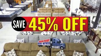 American Freight Semi-Annual Sale TV Spot, 'Take It Home Today for $50: Mattress Sets & Dining Sets'