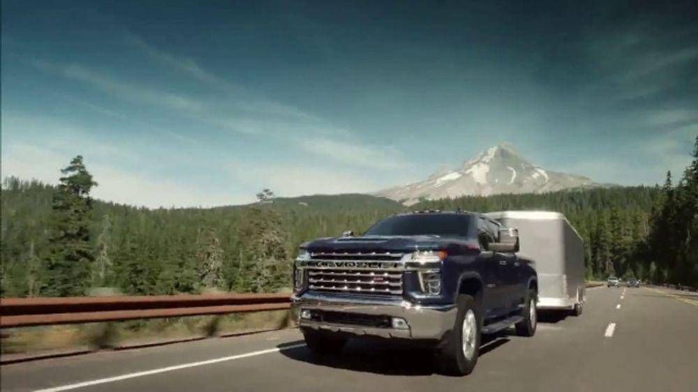 2020 Chevrolet Silverado HD TV Commercial, 'Behind Us' [T1]