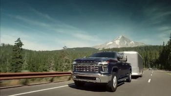 2020 Chevrolet Silverado HD TV Spot, \'Behind Us\' [T1]