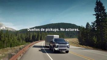 2020 Chevrolet Silverado HD TV Spot, 'Lo que hay detrás' [Spanish] [T1] - Thumbnail 2