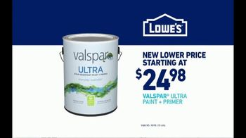 Lowe's TV Spot, 'Official Sponsor of the NFL: Valspar Ultra' - Thumbnail 9