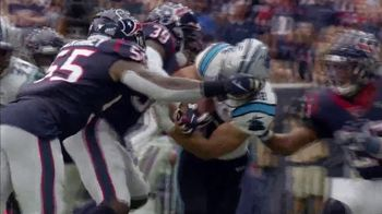 Verizon TV Spot, 'Moments of Impact: Texans vs. Panthers' - 5 commercial airings