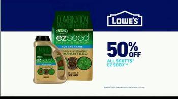 Lowe's TV Spot, 'All Season Long: Scotts EZ Seed' - Thumbnail 9