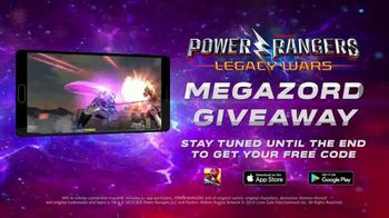 Power Rangers: Legacy Wars Megazord Giveaway TV Spot, 'Morphin Time' ' - Thumbnail 9