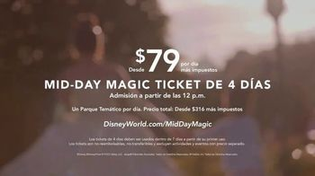 Disney World Four Day Mid-Day Magic Ticket TV Spot, 'Algún día' [Spanish] - Thumbnail 8