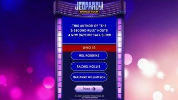 Jeopardy! World Tour TV Spot, 'Next Tournament: September' Featuring Mel Robbins - Thumbnail 6