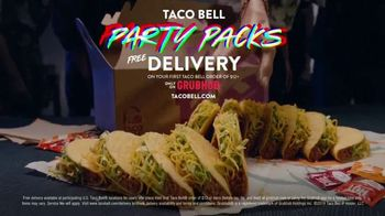 Taco Bell Party Packs TV Spot, 'Bring the Party: Free Delivery' - Thumbnail 8