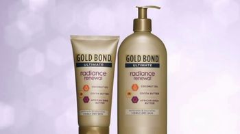 Gold Bond Radiance Renewal TV Spot, 'Lotion Wish: 24-Hour Moisturization' - Thumbnail 4