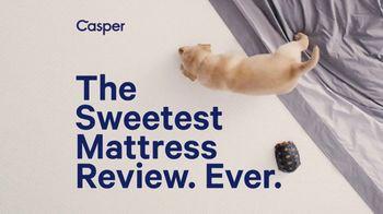 Casper TV Spot, 'The Sweetest Mattress Review' - Thumbnail 2