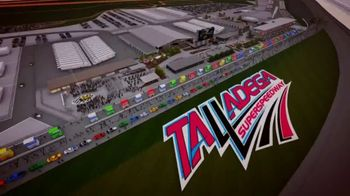 Talladega Superspeedway TV Spot, 'Crank It Up: The New Talladega Garage Experience' - Thumbnail 1