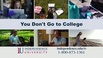 Independence University TV Spot, 'Pop Quiz: Better Way to Earn Your Degree' - Thumbnail 3