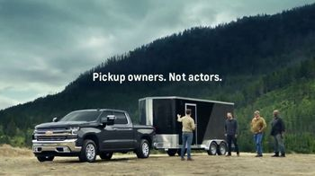 2019 Chevrolet Silverado TV Spot, 'Invisible Trailer' [T2] - Thumbnail 2
