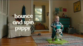 Fisher-Price Bounce and Spin Puppy TV Spot, 'The Ride' - Thumbnail 8