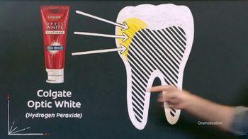 Colgate Optic White TV Spot, 'Coffee Stains Teeth' Featuring Alton Brown - Thumbnail 5
