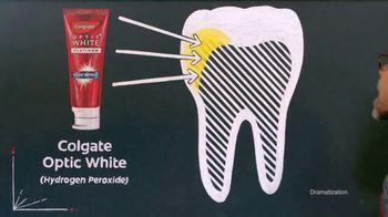 Colgate Optic White TV Spot, 'Coffee Stains Teeth' Featuring Alton Brown - Thumbnail 7