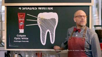 Colgate Optic White TV Spot, 'Coffee Stains Teeth' Featuring Alton Brown - Thumbnail 8