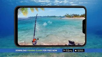 Fishing Clash TV Spot, 'Get Away When You Can't Get Away' - Thumbnail 4