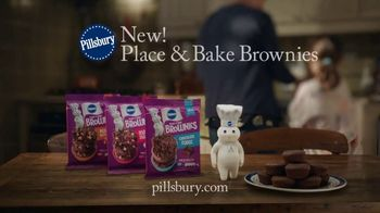 Pillsbury Place & Bake Brownies TV Spot, 'Easy to Share' - Thumbnail 9