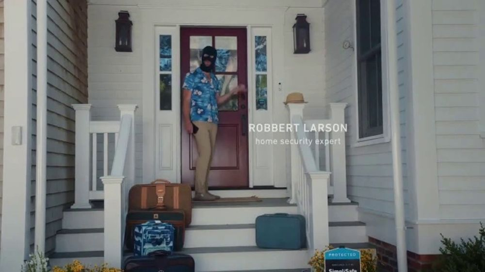 SimpliSafe Smart Lock TV Commercial, 'Keeping an Eye on Home'