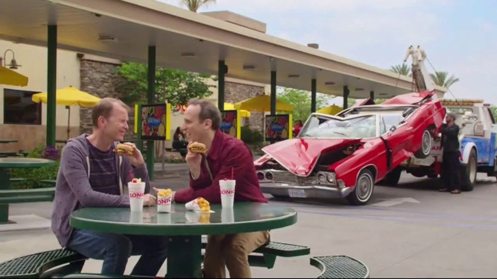 Sonic Drive In Jr Garlic Butter Bacon Burger Tv Commercial Buttering Me Up Ispot Tv