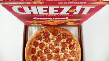 Pizza Hut Stuffed Cheez-It Pizza TV Spot, 'You're Welcome: $5'N Up Lineup' - Thumbnail 4