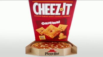 Pizza Hut Stuffed Cheez-It Pizza TV Spot, 'You're Welcome: $5'N Up Lineup' - Thumbnail 5
