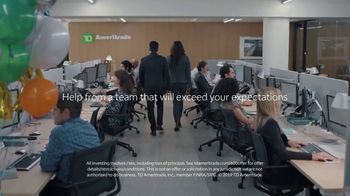 TD Ameritrade TV Spot, 'Green Room: Service That Exceeds Expectations' - Thumbnail 9