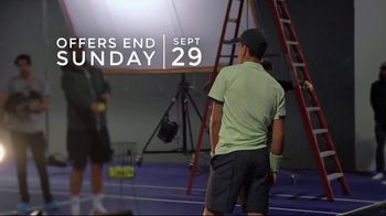 Tennis Warehouse Adidas Week TV Spot, \'Best Deals: 30 to 60 Percent Off Apparel\'