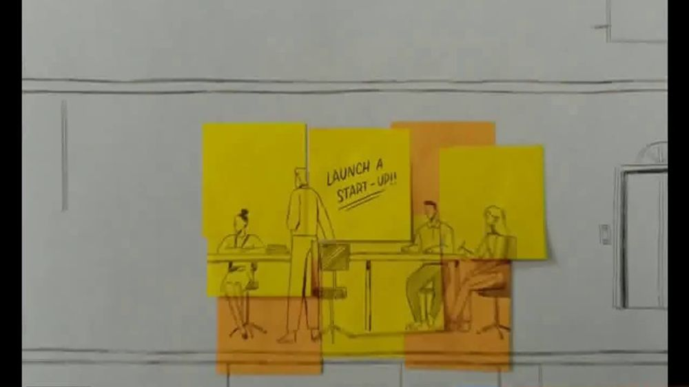 Post-it TV Commercial, 'Collaborate'