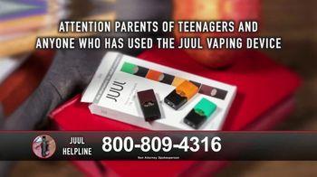 Juul Helpline TV Spot, 'Call Right Now' - Thumbnail 2