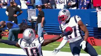 GEICO TV Spot, 'Play of the Day: Matthew Slater' - 4 commercial airings