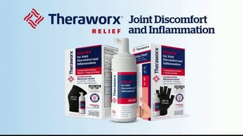 Theraworx Relief Joint Discomfort and Inflammation TV Spot, 'Now Introducing' - Thumbnail 6