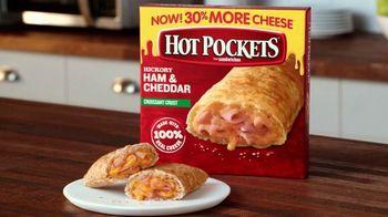 Hot Pockets Hickory Ham & Cheddar TV Spot, 'Alerta de sabor' [Spanish]