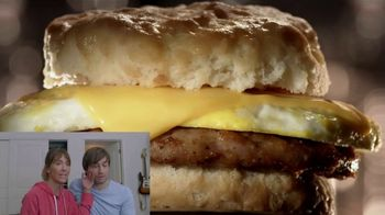 Jack in the Box 2-for-$4 Breakfast Biscuits TV Spot, 'Reacciones' [Spanish] - Thumbnail 7