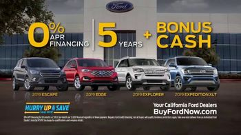 Ford Hurry Up & Save Sales Event TV Spot, 'Cookie Dough Ninja' Song by The Black Eyed Peas [T2] - Thumbnail 7