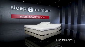 Sleep Number Biggest Sale of the Year TV Spot, '360 Smart Bed' - Thumbnail 2