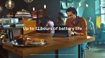 Google Chromebook TV Spot, 'Up to 12 Hours of Battery Life' - Thumbnail 8