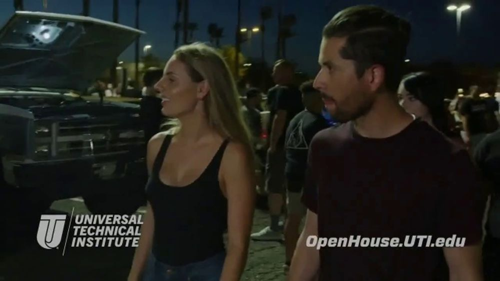 Universal Technical Institute Power & Performance Open House TV Commercial, 'Saturday Night'