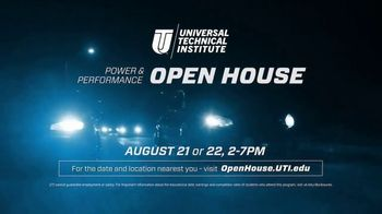 Universal Technical Institute Power & Performance Open House TV Spot, 'Saturday Night' - Thumbnail 10