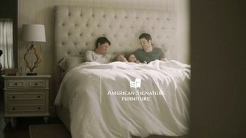 American Signature Furniture End of Summer Sale TV Spot, 'Dream Plus Queen Mattress Set' - Thumbnail 1